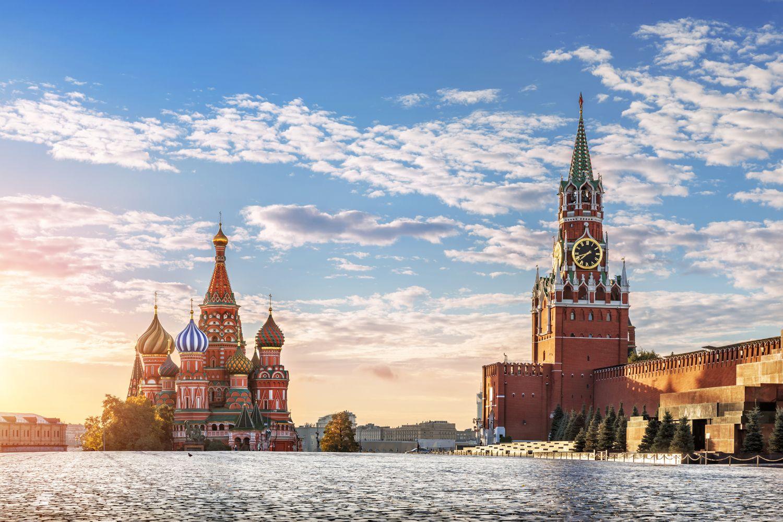 Moskau Roter Platz klein iStock 619646840